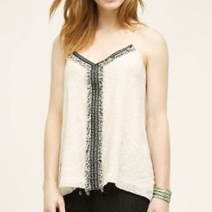 Anthropologie Tops - Akemi + Kim lace and tweed detail tank.
